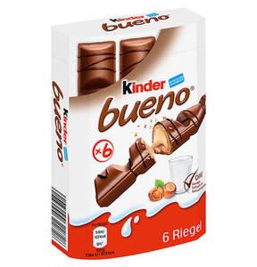 FERRERO             kinder bueno 6-teilig, 129g                 (3 Stück)