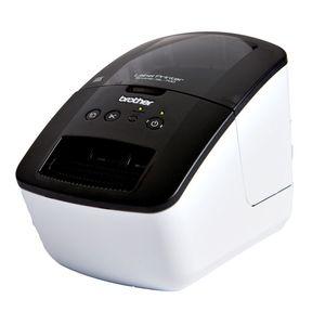 Brother Etikettendrucker, QL-700, PC/MAC, PC-Anbindung: USB, für: DK-Etiketten, 128 x 221 x 153 mm, 1.120 g