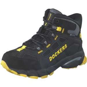 Dockers Tex Schnür Boots Jungen schwarz