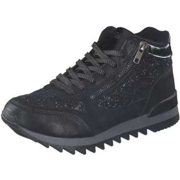 Studio London Schnürsneaker Damen schwarz