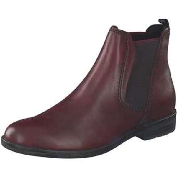 Leone Chelsea Boots Damen rot
