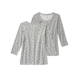 Girls Damen-Shirt mit Trend-Design