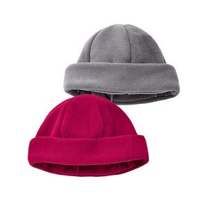 Damen-Fleece-Mütze mit Umschlag