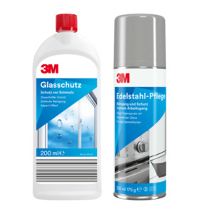 3M Glasschutz / Edelstahl-Pflege