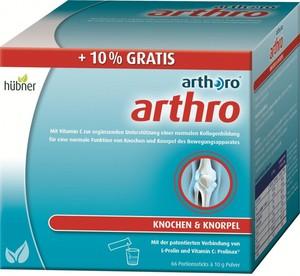 Hübner  arthoro®  arthro 60 Sticks + 6 Sticks gratis