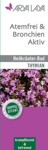 Arya Laya  Heilkräuterbad Atemfrei & Bronchien Aktiv - Thymian 200 ml