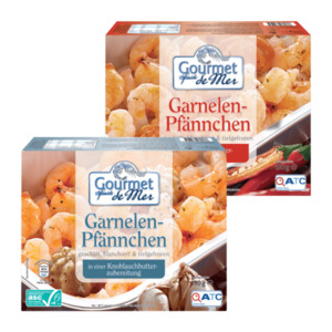 GOURMET FRUITS DE MER     Garnelen-Pfännchen