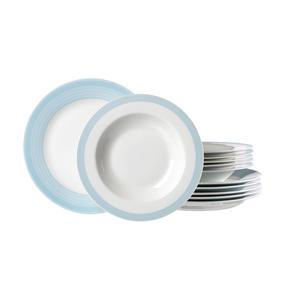 Ritzenhoff Breker Porzellan TAFELSERVICE 12-teilig, Weiß
