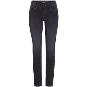 Mac Damen Jeans, Straight Leg, black used, 46/L30