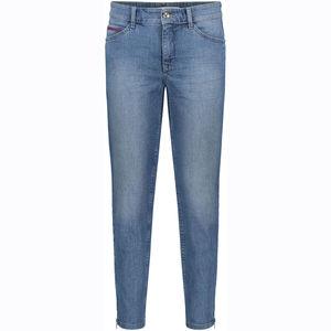 Mac Damen Jeans, Feminine Fit, verkürzte Form, mittelblau, 42/L27