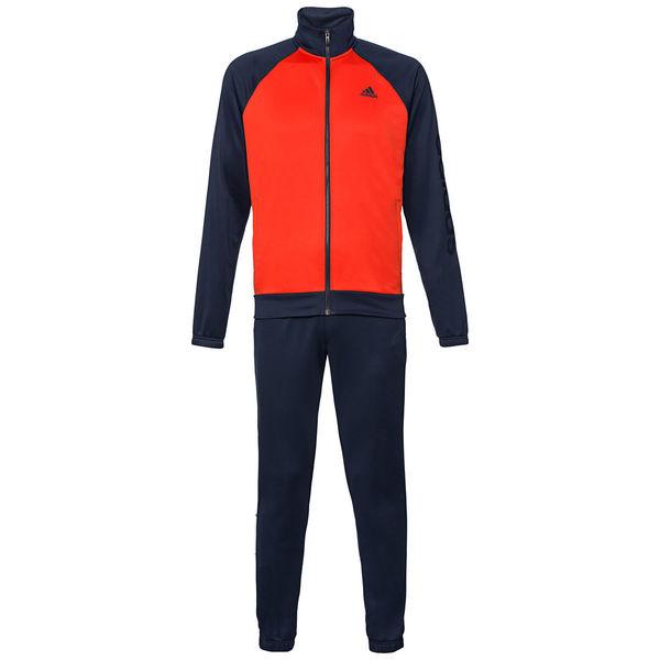 adidas Herren Trainingsanzug Marker TS, dunkelblauorange