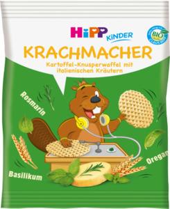 Hipp Snack Krachmacher Kartoffel-Knusperwaffel mit italienischen Kräutern ab 3 Jahren