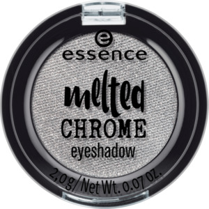 essence cosmetics Lidschatten melted chrome eyeshadow steel the look 04
