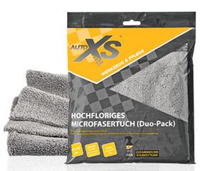 AUTOXS®  Hochfloriges Microfasertuch, 2Stück