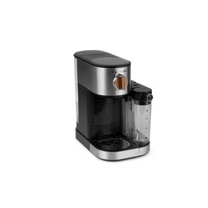 MEDION Espressomaschine MD 17116 mit 15 bar, integrierter Milchaufschäumer, 1.470 Watt, 1,2 l Wassertank