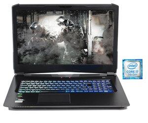 HYRICAN 17,3´´, i7-7700HQ, 16GB, 240GB SSD + 1TB HDD, Geforce® GTX 1070 »Striker 1573«