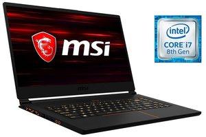 MSI 15,6´´, i7-8750H, 8GB RAM, 512GB SSD, GeForce® GTX 1060 »GS65 8RE-036DE (0016Q2-036)«