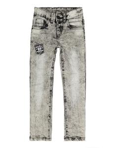 Jungen Bleached Slim Fit 5-Pocket-Jeans