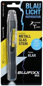 BLUFIXX Reparaturstift MGS ,  Metall & Glas & Stein, klar