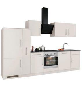 WIHO-Küchen Küchenzeile »Cali« mit E-Geräten, Breite 310 cm