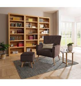 Home affaire Sessel mit Hocker »Michigan«, mit und ohne Relaxfunktion