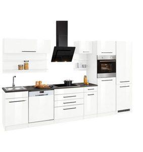 HELD MÖBEL Küchenzeile mit E-Geräten »Tulsa«, Breite 350 cm