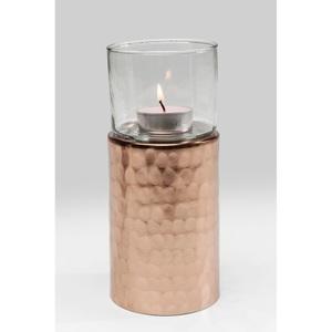 KARE DESIGN Teelichthalter ELEGANCIA Glas/Metall/Aluminium Gold