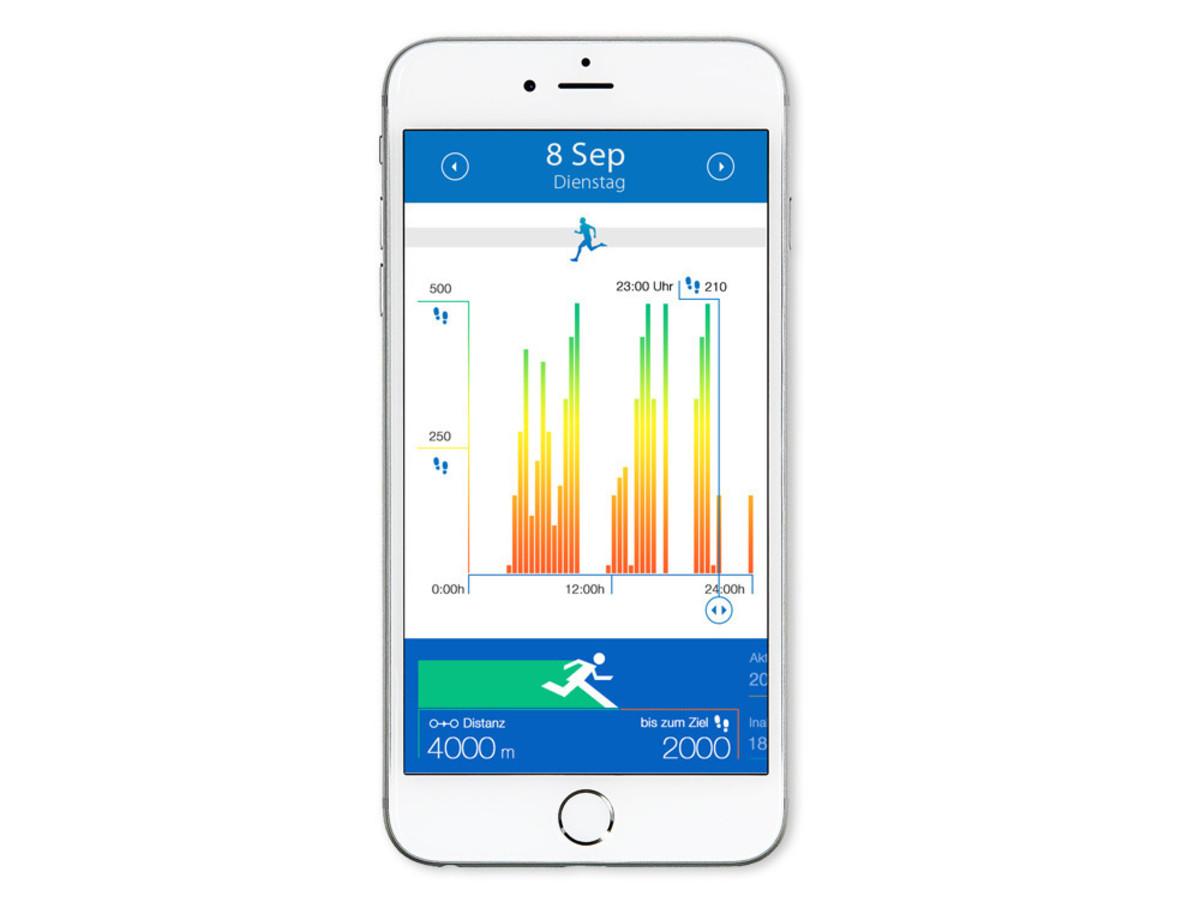 Bild 2 von Medisana ViFit MX3 connect, Aktivitäts- & Schlaftracker, Bluetooth, mehrfarbig