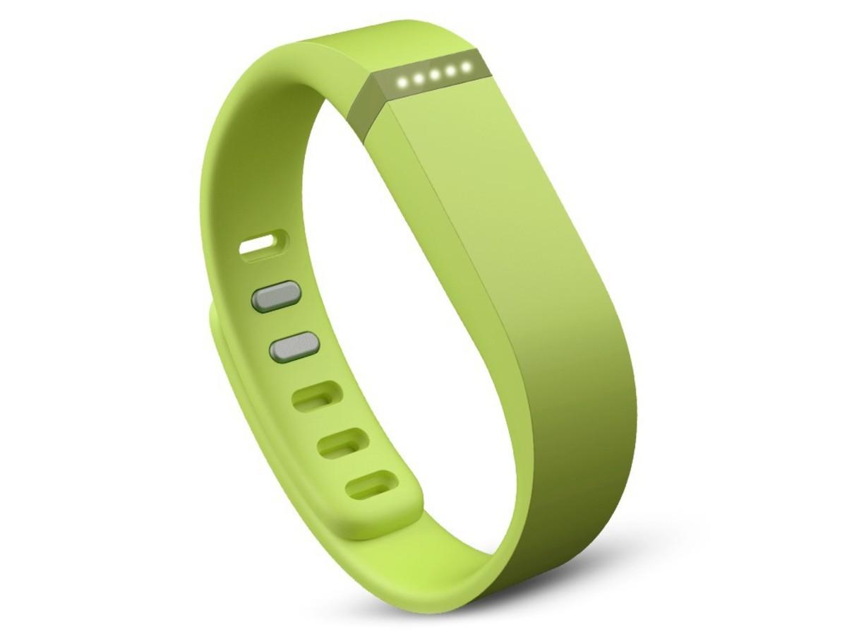 Bild 1 von Fitbit Flex, Armband mit Fitness-Tracker, limettengrün