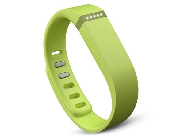 Fitbit Flex, Armband mit Fitness-Tracker, limettengrün