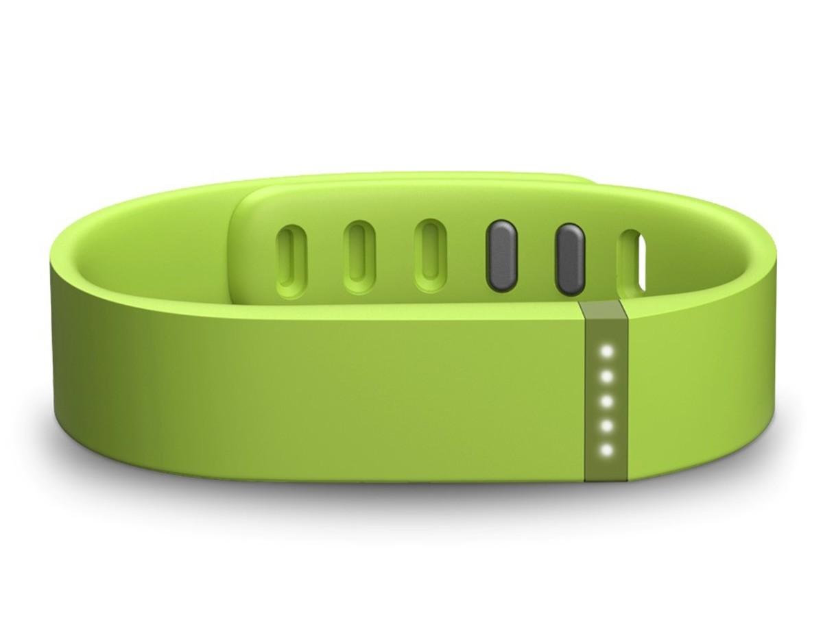 Bild 2 von Fitbit Flex, Armband mit Fitness-Tracker, limettengrün