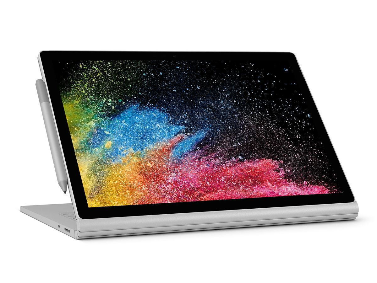 "Bild 2 von Microsoft Surface Book 2, 13"", dedizierte GPU, i7, 8 GB RAM, 256 GB SSD, silber"