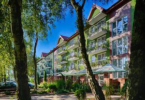 Polnische Ostseeküste - Dziwnówek  Hotel Maximus Spa