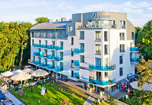 Ostseeinsel Usedom  Hotel Laguna, Swinemünde