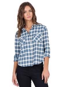 Volcom Cozy Day Cropped - Hemd für Damen - Blau