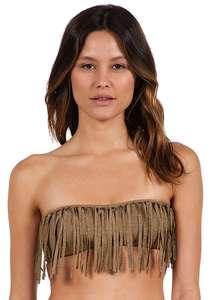Volcom Smoke Signals - Bikini Oberteil für Damen - Braun