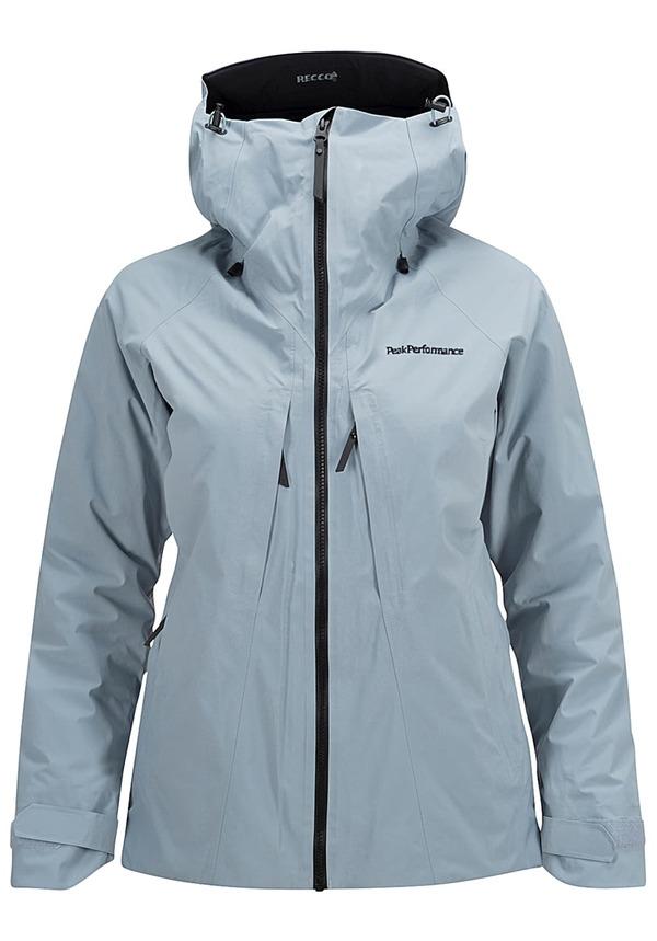 Peak Performance Teton 2L - Outdoorjacke für Damen - Blau
