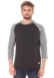 Element Basic 3/4 - Langarmshirt für Herren - Blau