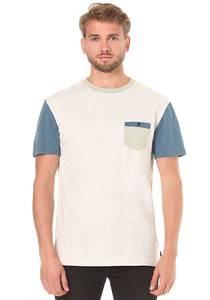 Quiksilver Baysic Pocket - T-Shirt für Herren - Grau