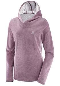 Salomon Elevate - Kapuzenpullover für Damen - Pink
