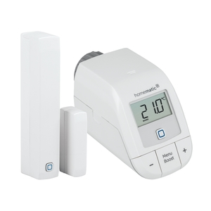 Homematic IP Easy Connect Set Heizen Smart Home (1x Heizkörperthermostat, 1x Fenster- und Türkontakt)
