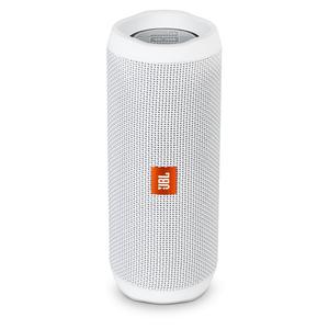 JBL Flip 4, Tragbarer Bluetooth-Lautsprecher, Weiß