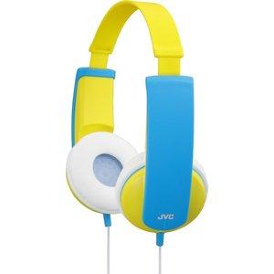 JVC HA-KD5 (gelb) - Kindgerechter Stereokopfhörer mit gehörschonender Lautstärkebegrenzung