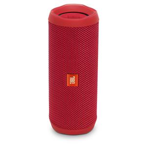 JBL Flip 4, Tragbarer Bluetooth-Lautsprecher, Rot