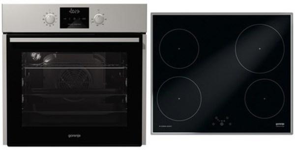 Gorenje Kühlschrank Rk 61620 X : Gorenje gourmet set bo heißluft induktion geräte set mit