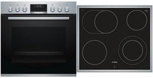 Bosch HND611LS60 Geräte-Set edelstahl + edelstahl / A