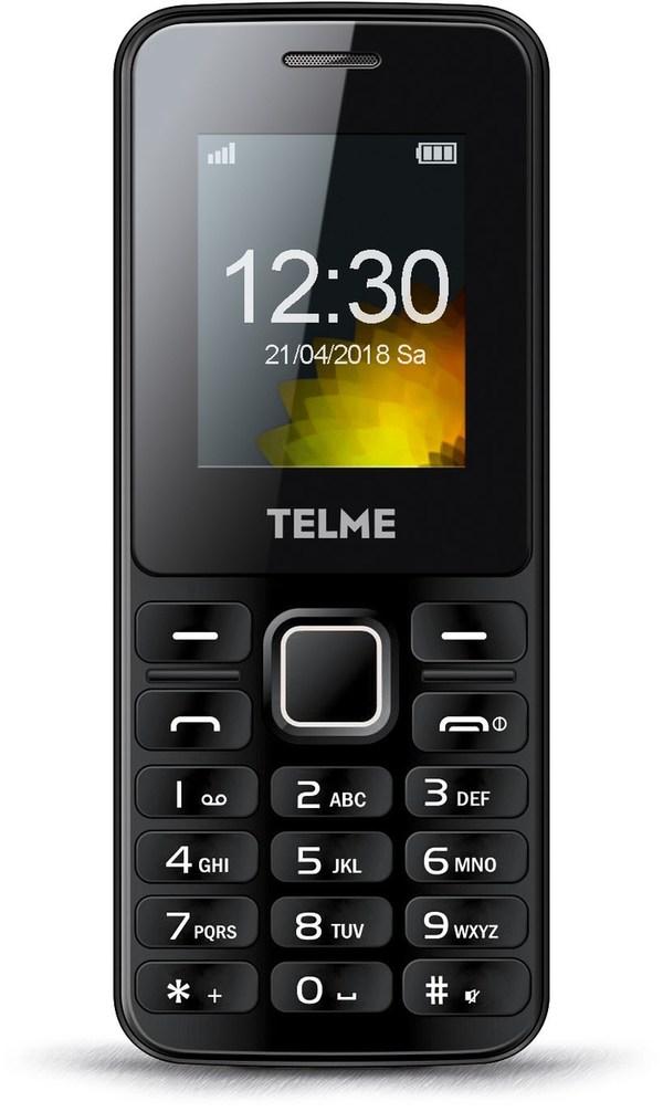 Telme T211 Tasten Handy schwarz