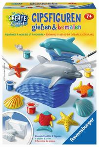 Ravensburger Gipsfiguren - Delfin