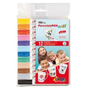 Hobby Line Porzellanstift easy 12er Set