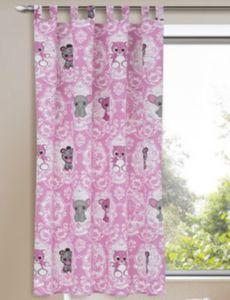 Vorhang Plüschis Tiere, 175 x 135 cm